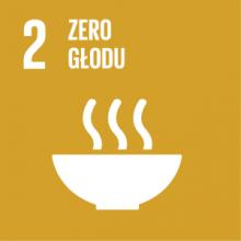 Cel 2: Wyeliminować głód, osiągnąć bezpieczeństwo żywnościowe i lepsze odżywianie oraz promować zrównoważone rolnictwo